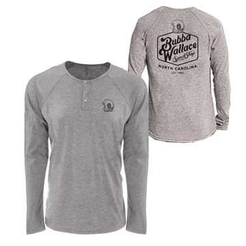 Picture of Speed Shop Henley Long Sleeve
