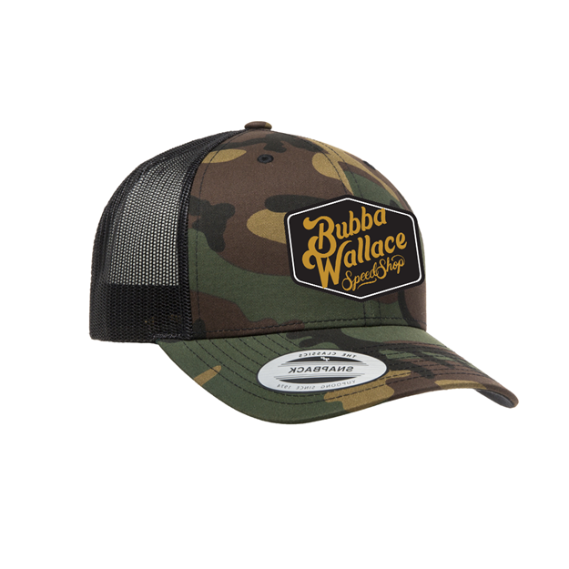 Picture of Speed Camo Trucker Snap Back